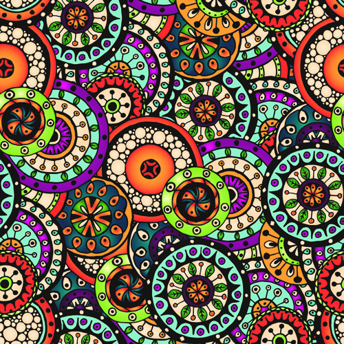Beautiful-ethnic-style-seamless-patterns-vector-set-04