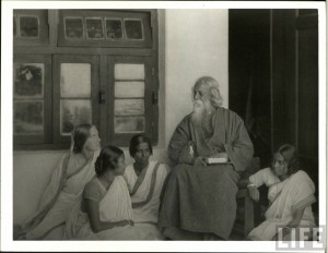 Rabindranath Tagore in 1925 Part 4