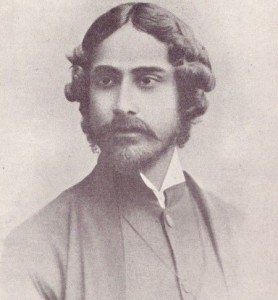 Rabindranath Tagore. 1890. London